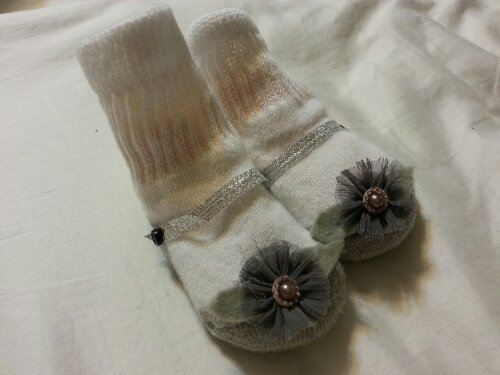 DIY Baby socks